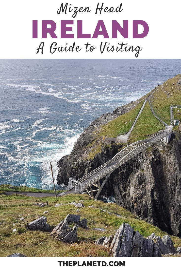 Mizen Head Ireland Where Sea Meets Sky At The Extreme Edge Of