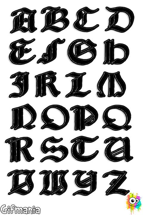 Letras medievales … | PLASTIC CANVAS | Lette…