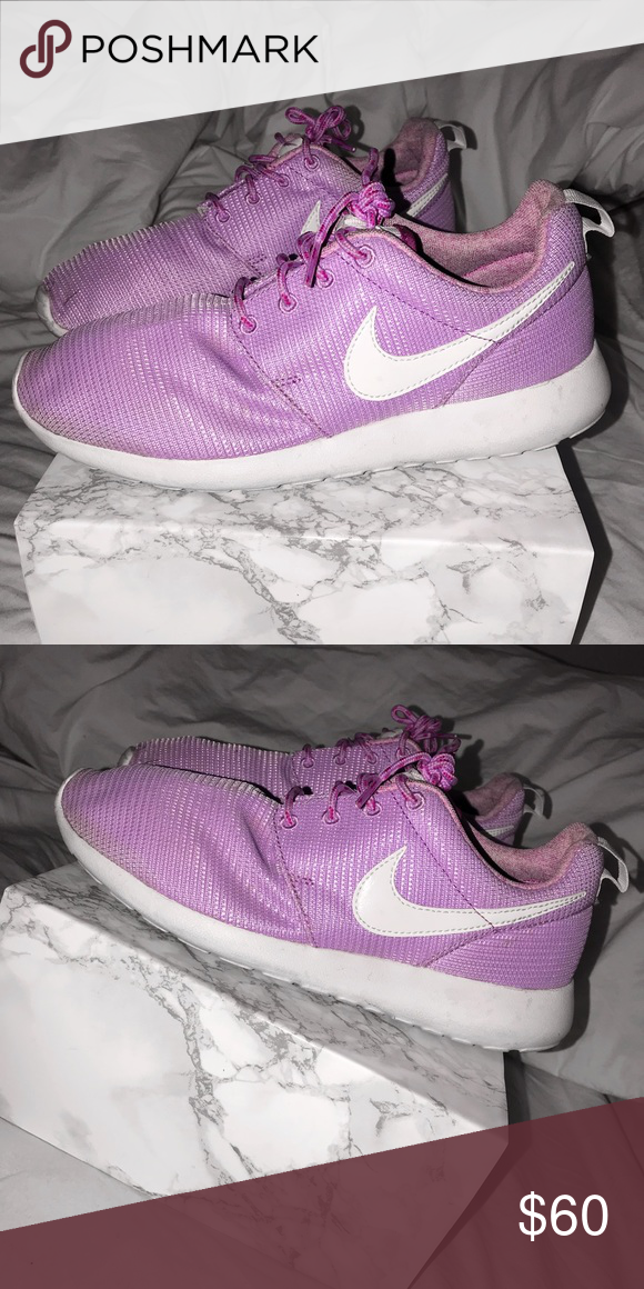 9bea614f2eb ... denmark cute light purple nike roshe fits size 8.5 these are a kids  size size 6.5