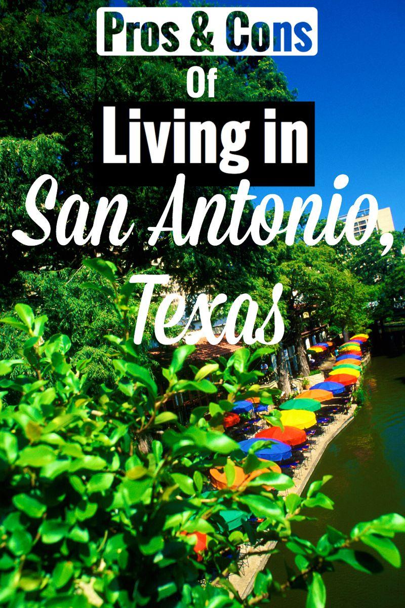 Living in San Antonio, Texas