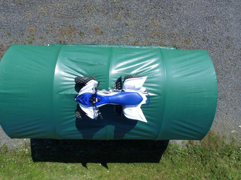 fabric portablegarage yamaha raptor Portable garage