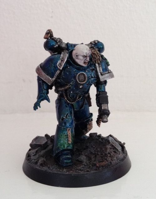 Must be Alpha Legion Chaos Space Marine