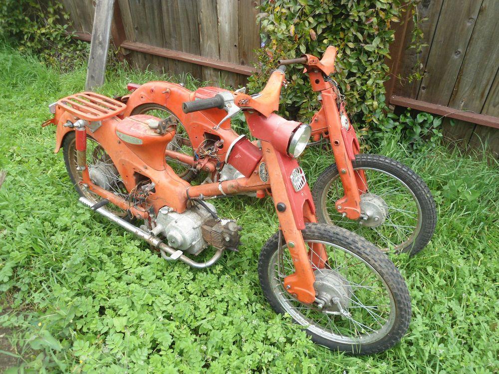 1959 Honda C100 Honda C100 Honda Honda Motorcycles
