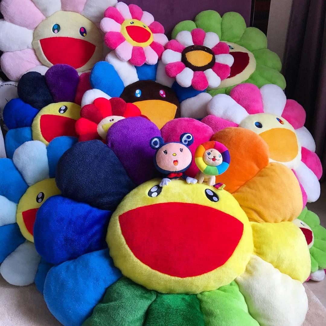 Morning daisy pillows dream house decor art toy