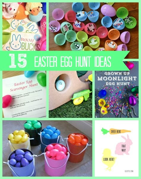 15 fun easter egg hunt ideas easter holidays and easter hunt negle Image collections