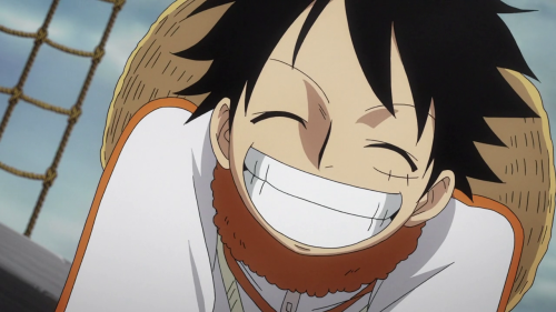 Coz We All Need A Smiling Luffy To Brighten Up Our Day D Manga Anime One Piece One Piece Manga One Piece Gif