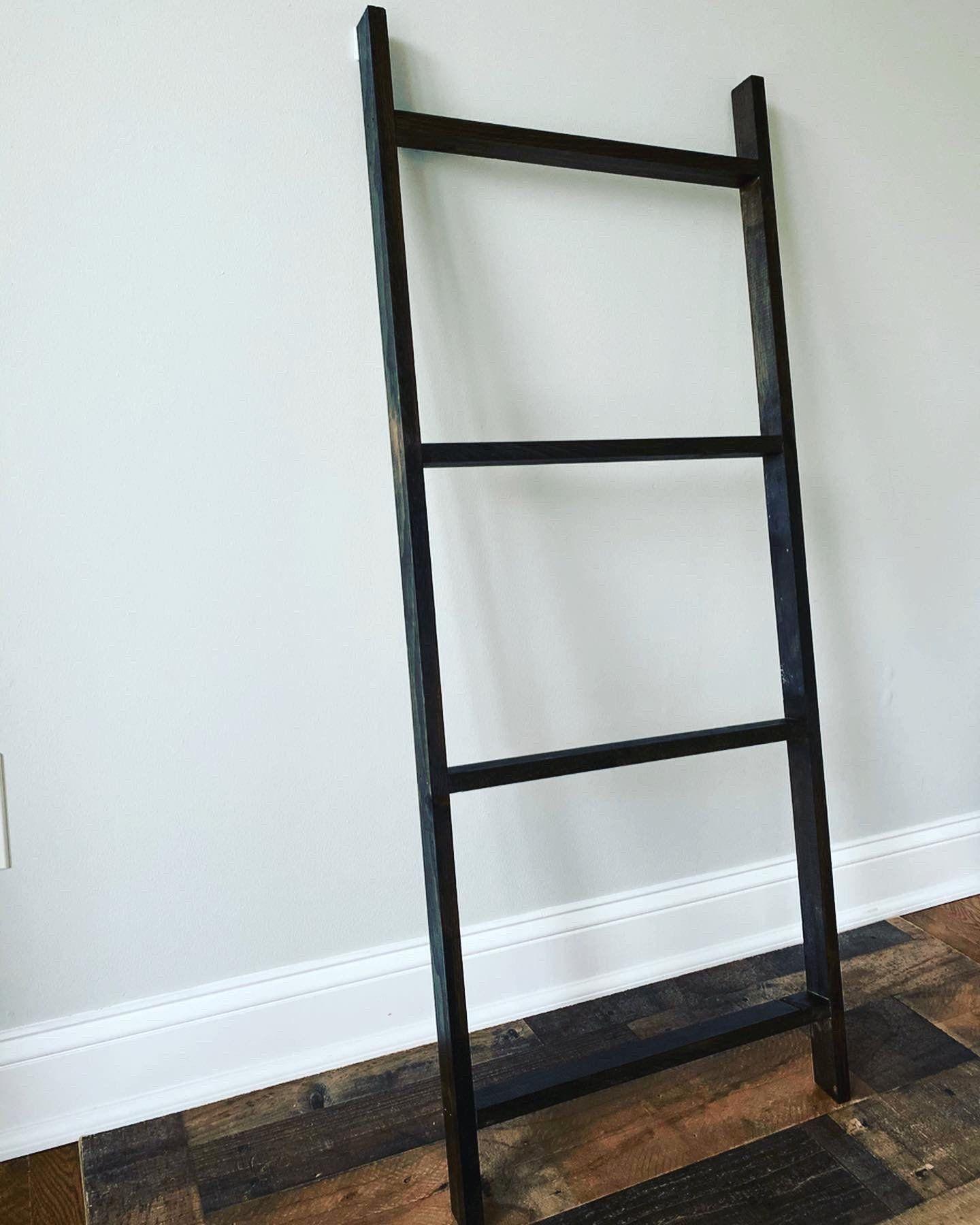 farmhouse blanket ladder amazon