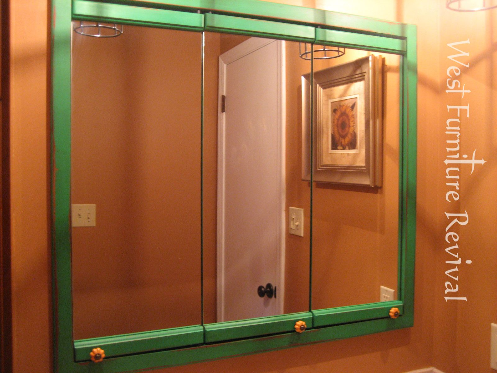 Ole Time 3 Mirror Medicine Cabinet Redo With Images Medicine