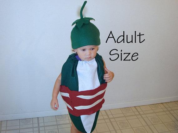 Adult Halloween Costume Jalapeno Popper Teen Mens Womens Food Food Bacon  Costume Mens Costume Womens 740ebe5ab7