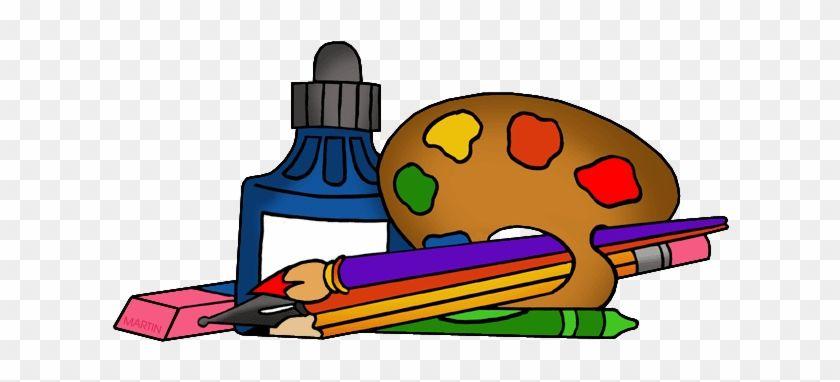 Art Supplies School Supplies Clipart Png 217790 Art School Supplies Free School Clipart Clip Art