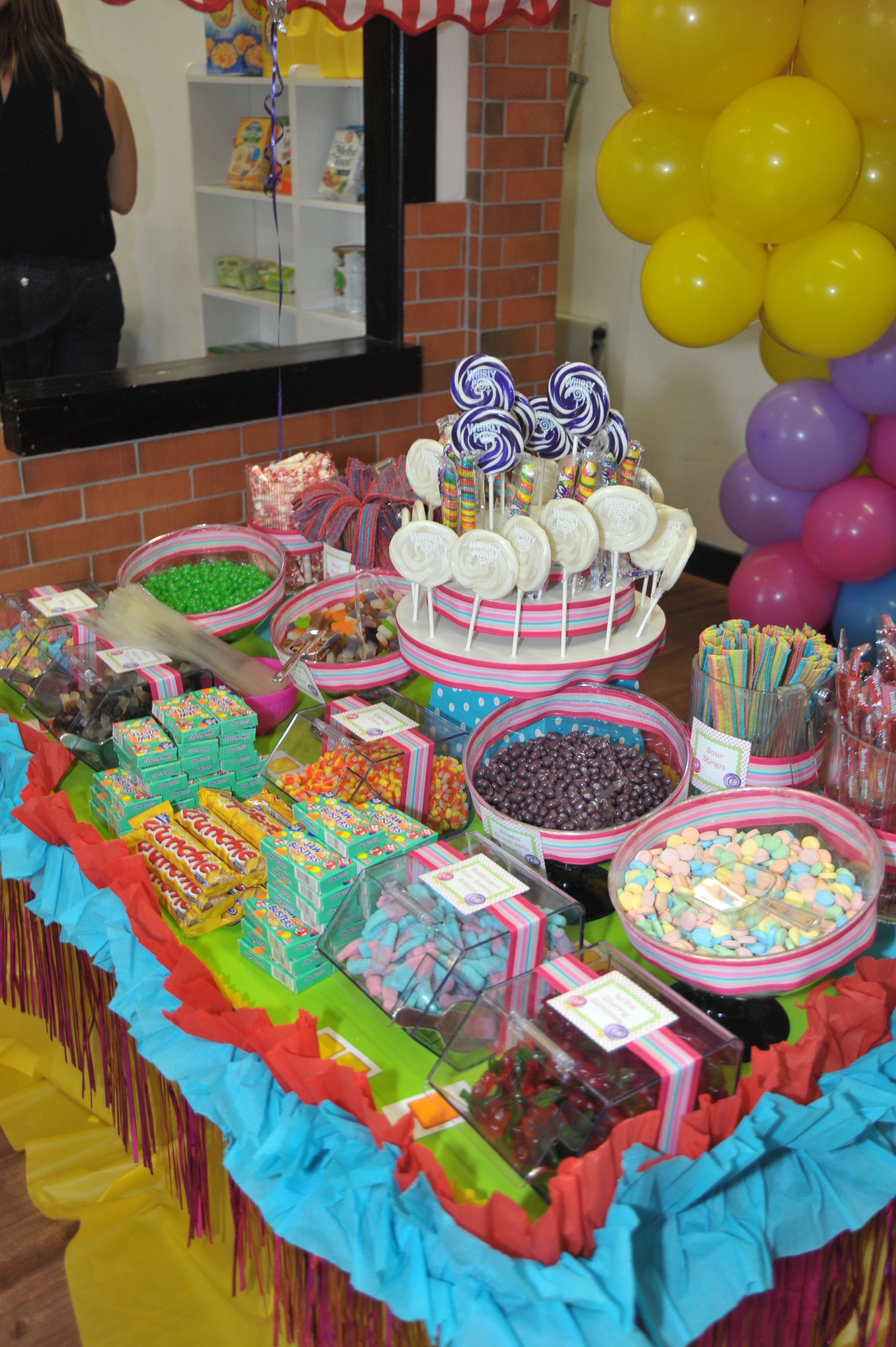 Candy Land Party Candy Themed Party Candy Party Candyland Birthday