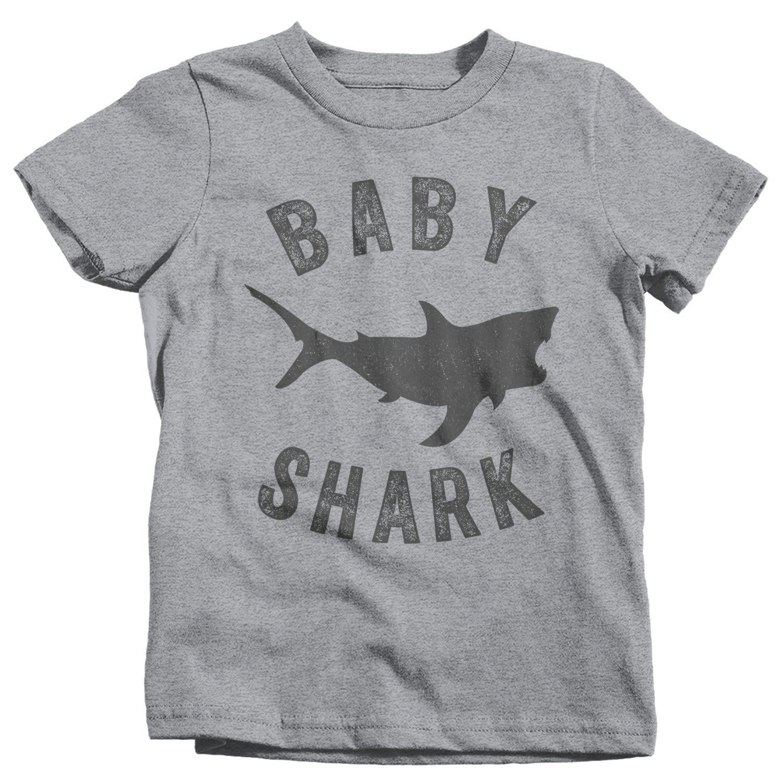 Kids Baby Shark T Shirt Shark Shirts Matching Baby TShirt ...