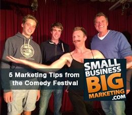 5 Marketing Tips from the Melbourne Comedy Festival #marketing #blog - Read more at http://smallbusinessbigmarketing.com/5-marketing-tips-melbourne-comedy-festival/#sthash.GSXnubdj.dpuf