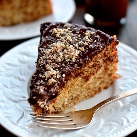 Chocolate Citrus Almond Cake - a delicious, gluten-free and low carb dessert!