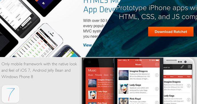 8 mobile framework per la creazione di applicazioni in