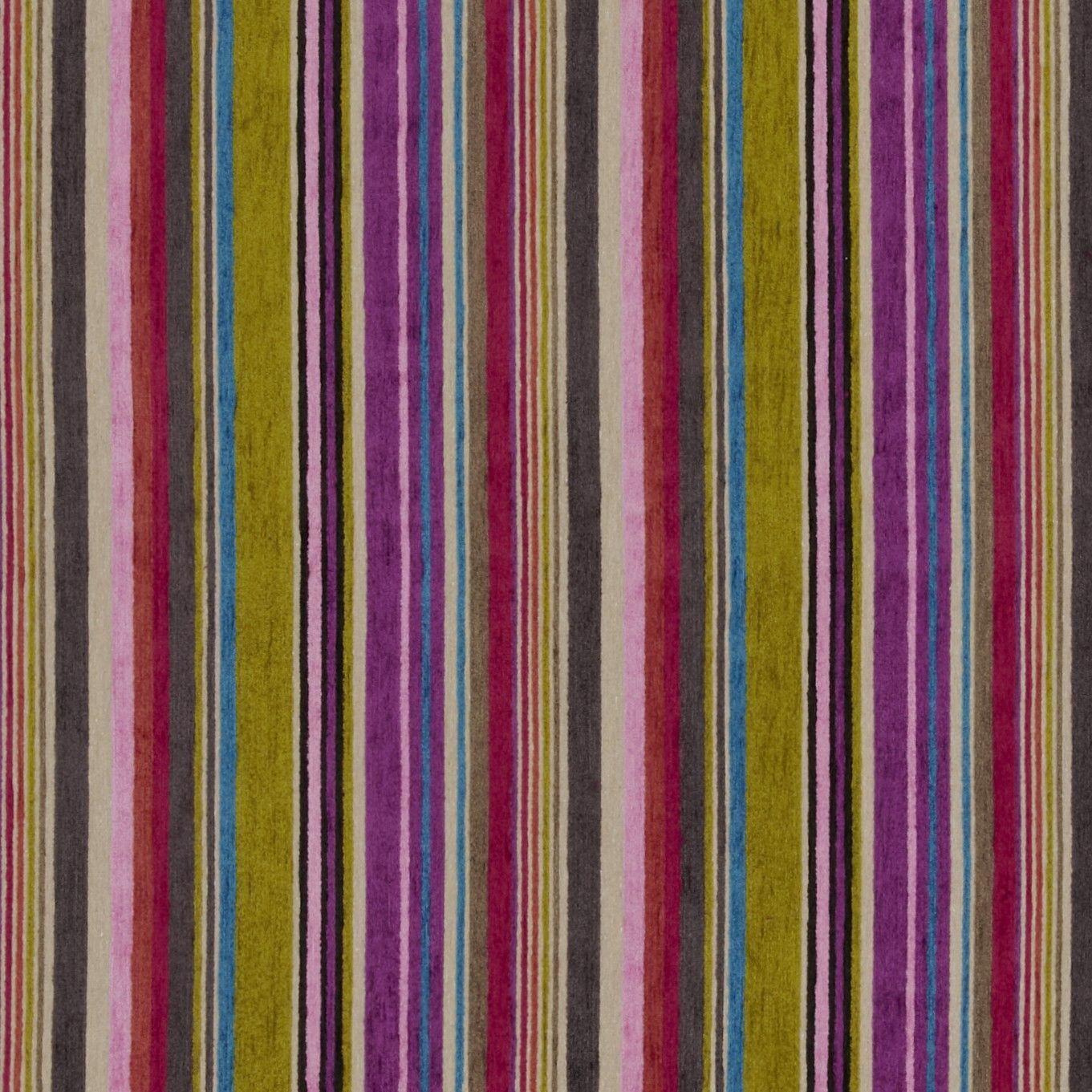Designers Guild Asolo Woven Velvet Stripe Fabric Www
