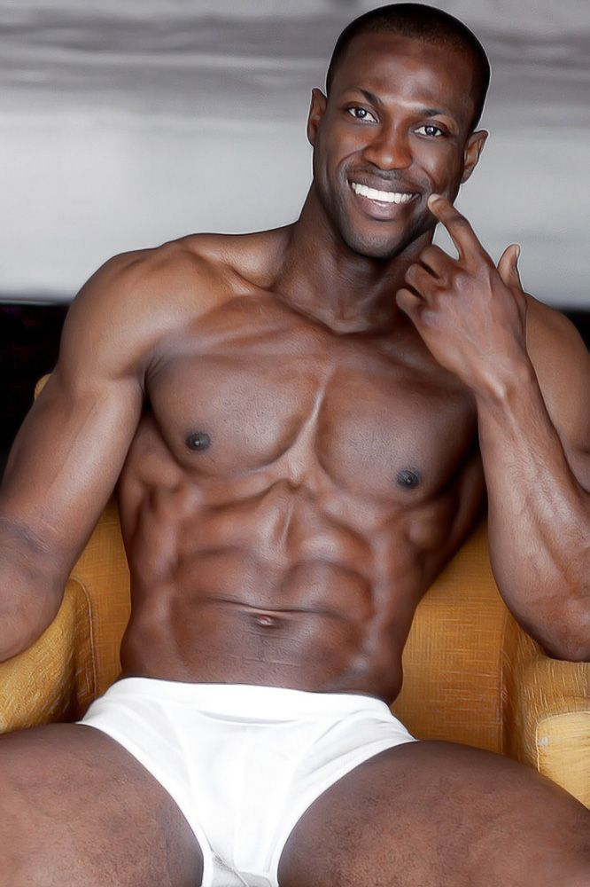 from Casey gay black male body builder