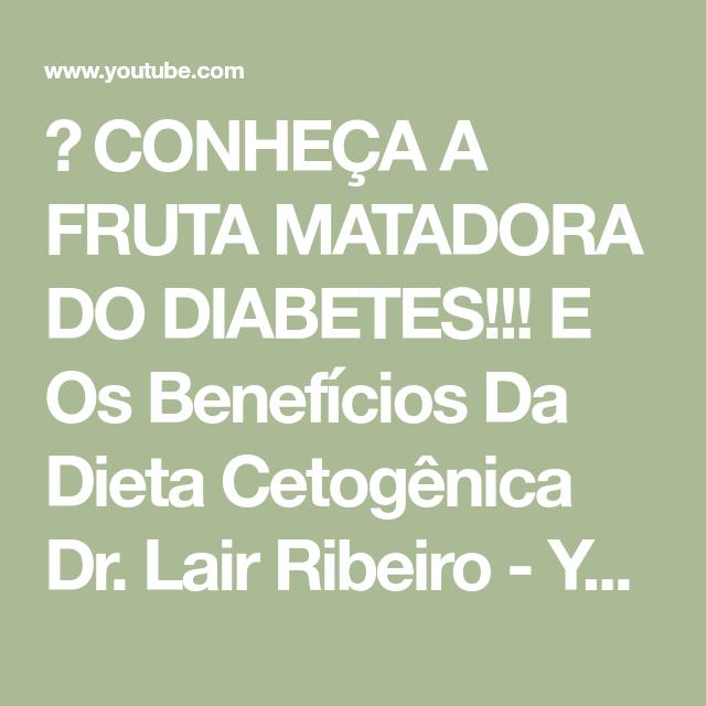 Cardapio da ketogene Diät Dr. Lair Ribeiro