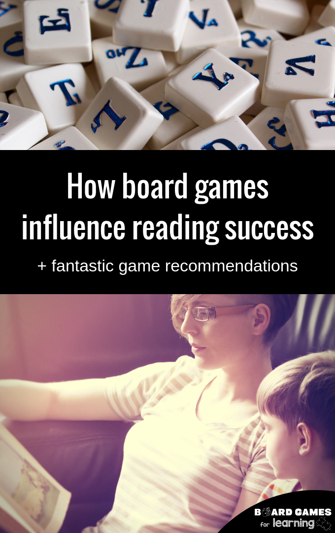 The Impact Of Board Games On Early Literacy Or For Reluctant Readers