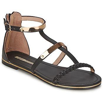 Cuando la Buffalo crea unas sandalias en negro, lo añadimos rápidamente a nuestro dressing shoe. Para garantizar el efecto moda, Goldiva tiene un corte en sintético y una suela exterior en sintético. Muy cómodos de llevar, estos zapatos combinan las ventajas de las plantillas en cuero con las del forro en cuero.