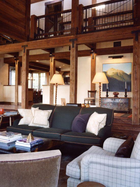42 Ideas For Living Room Small Rustic Beams Livingroom: 9 Brisk Simple Ideas: Livingroom Remodel Hallways Living