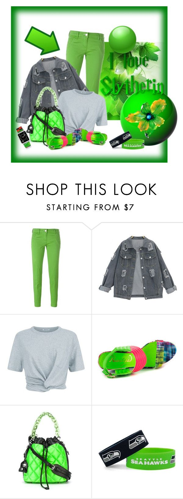 """""""zielone"""" by margo47 ❤ liked on Polyvore featuring Jacob Cohёn, T By Alexander Wang, Privileged, Moschino, aminco and Casetify"""