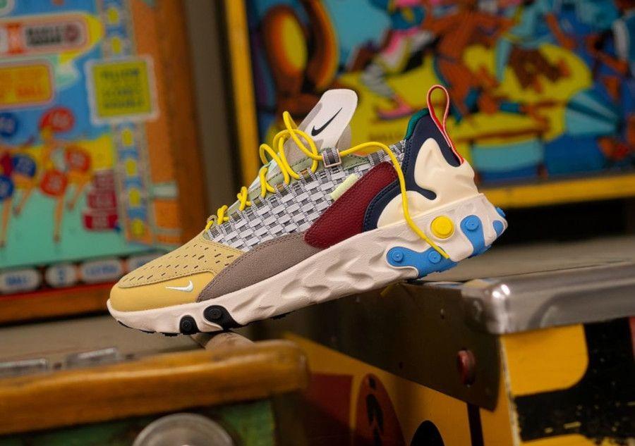 Nike React Sertu The 10TH 'Wolf Grey Teal Tint Pumice' (2019 ...