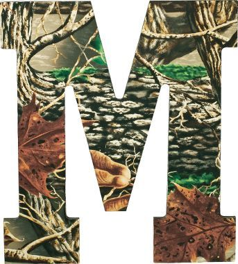 Camo letters wall art letter wall my name and letter for Cabela s tackle craft catalog