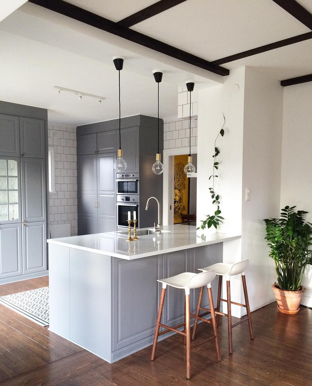 Ikea Kitchen Bodbyn Grey: Regardez Cette Photo Instagram De @huehuynhillustration