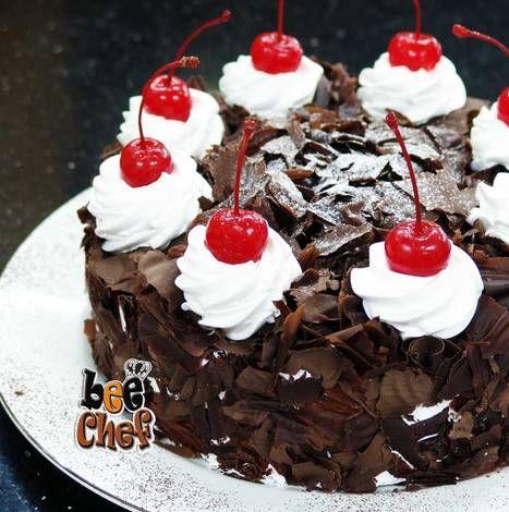 Resep Black Forest Sederhana Oleh E Culinaryjakarta Id Resep Hiasan Kue Kue Makanan