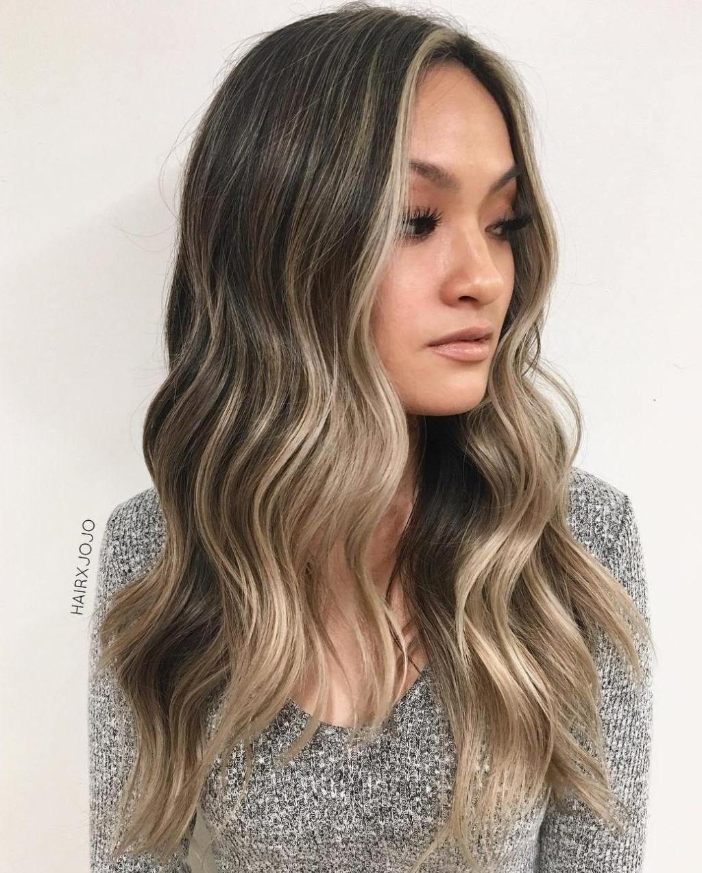 20 Best Face Framing Highlights For Every Face Shape Ash Blonde Balayage Balayage Hair Ash Blonde Balayage