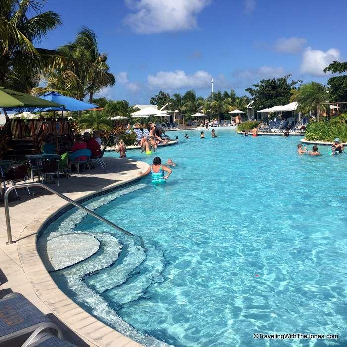 Swimming Pool, Grand Turk Cruise Center, Grand Turk Island, Turks & Caicos
