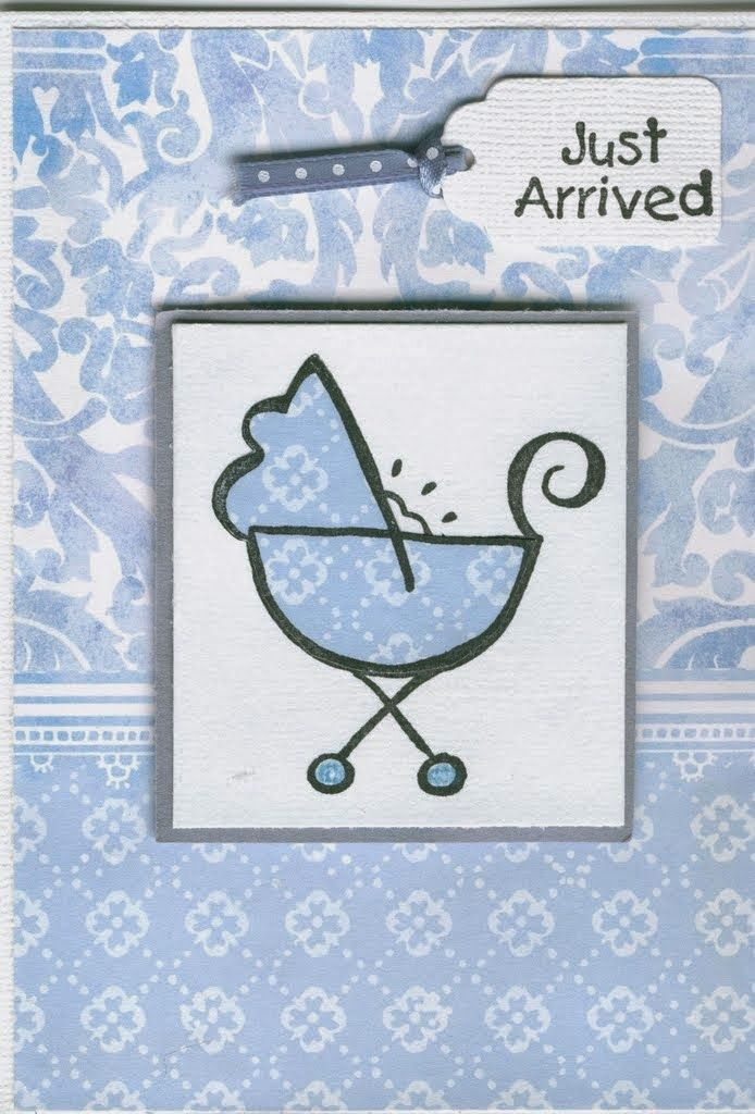 Baby Pram 2777e Just Arrived 2924c Stamp It Australia Card By Susan Of Art Attic Studio Baby Cards Cards Art