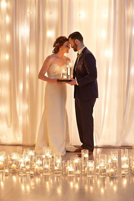 Modern Candlelight Wedding Ideas