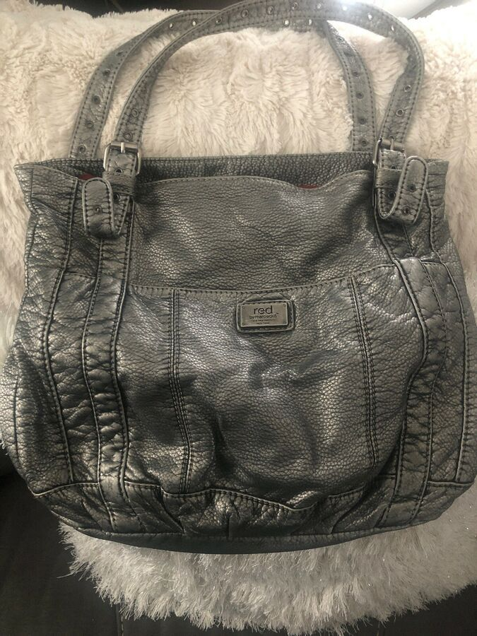 Red By Marc Ecko Purse Gray Ad