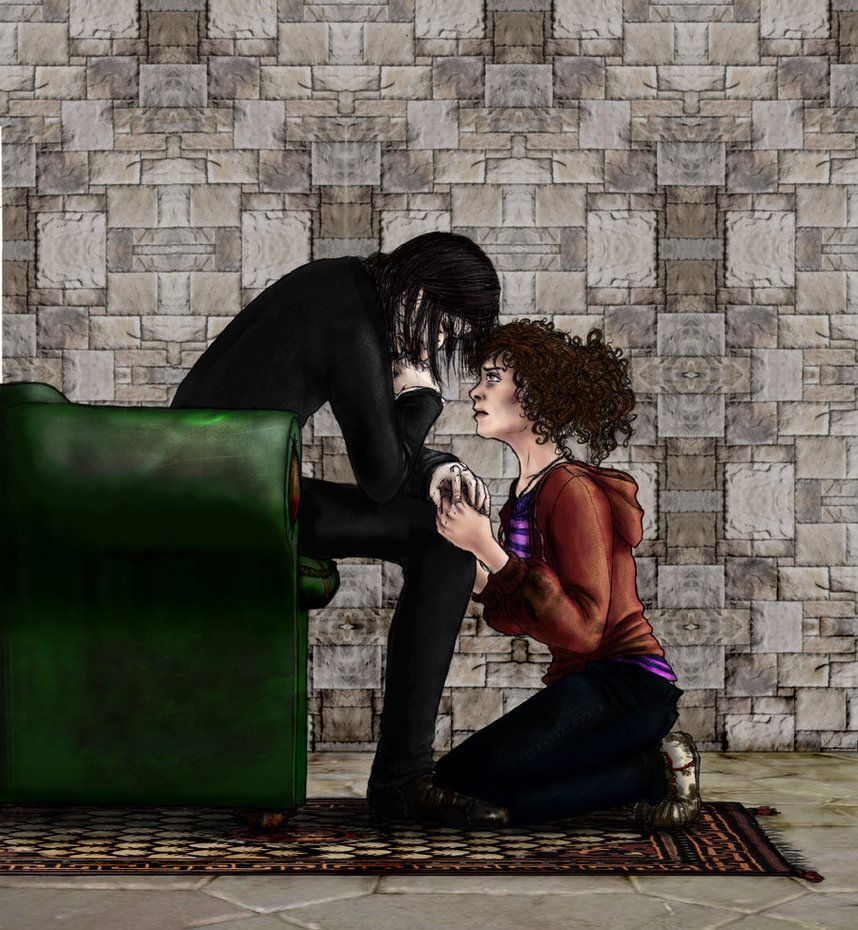 Don T Give Up Snape And Hermione Harry Potter Fan Art Severus Snape Hermione Granger