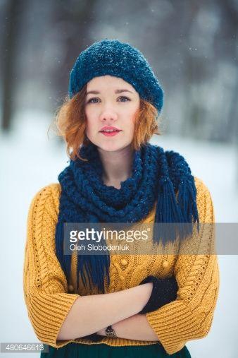 Girl under the snow | Gorros, Sombreros !!!! 3.Crochet y Punto ...