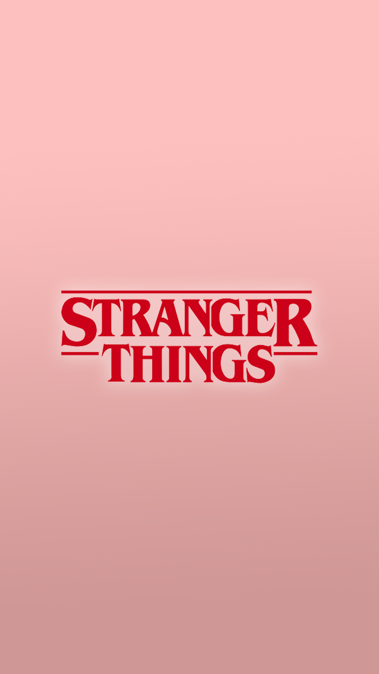 Stranger things pink wallpaper iPhone 6s Plus