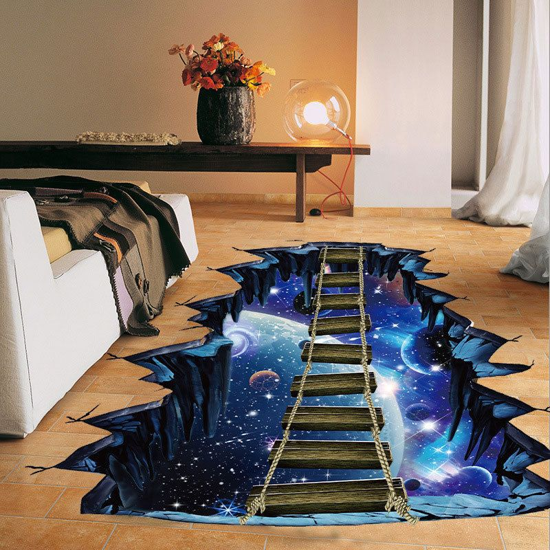 3d home decoration cosmic space wall sticker galaxy star on wall stickers for home id=32262