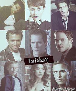 The Following- Paul, Emma, Jacob, Joe, Ryan, Weston, Joey, Claire, and Roderick