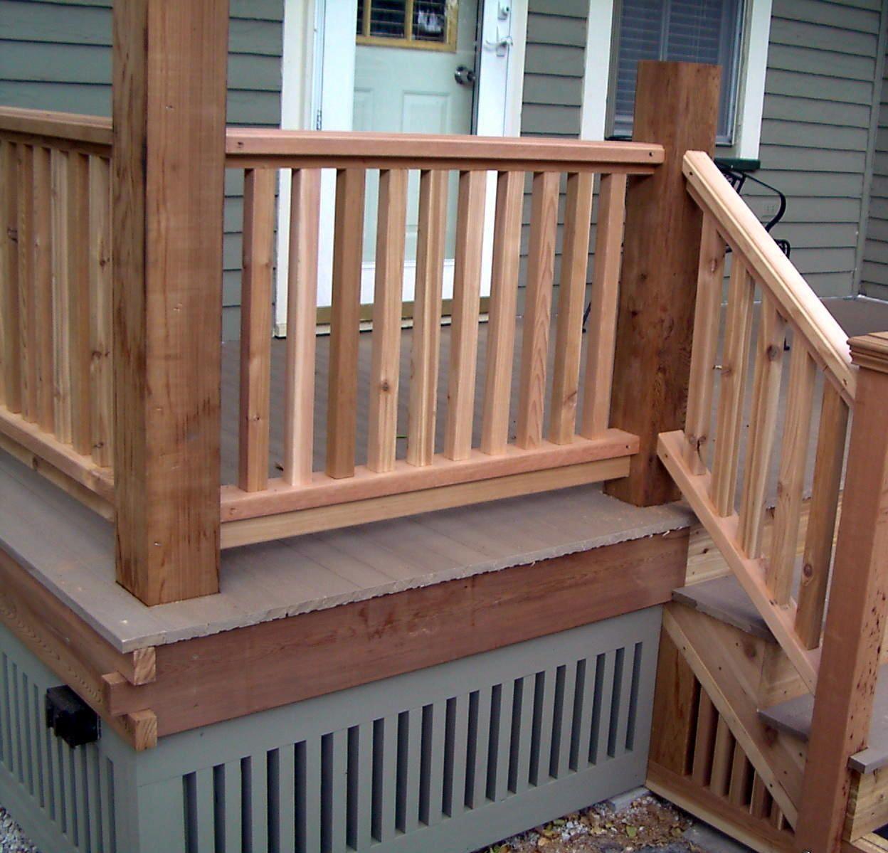 porch railing ideas | Monterey Railing Design | Patio ...