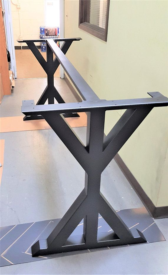 Trestle Table Legs With 1 Brace Model Tr11dcb1 Heavy