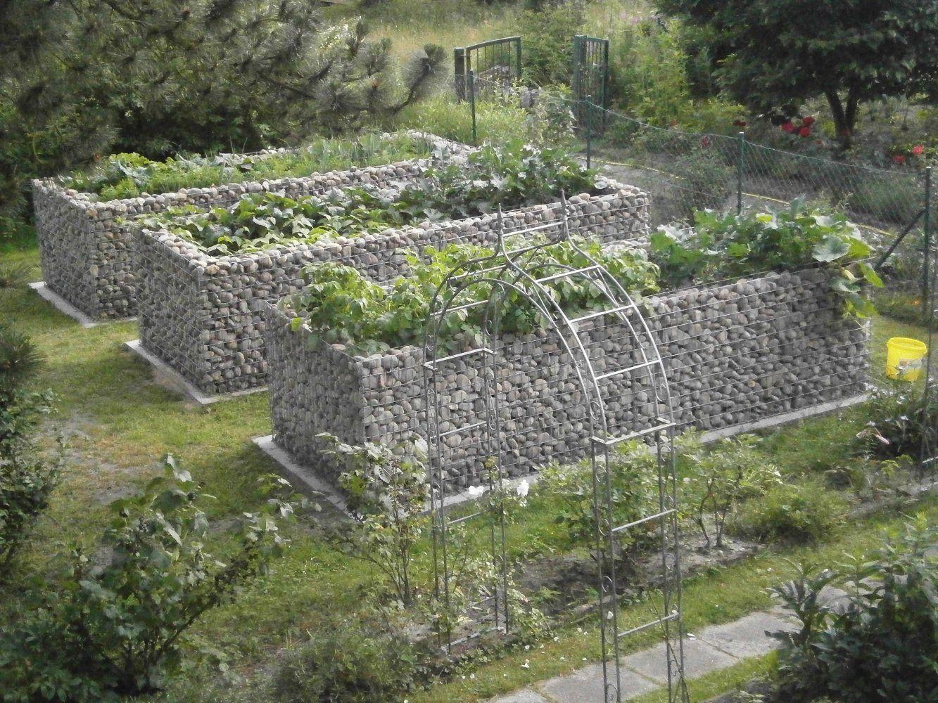 Gabion Basket Raised Fence L 200 X 100 X 100 Cm 5 10 X Mesh Wall 10 Cm Amazon Co Uk Garden Outdoors Gabion Baskets Fence Outdoor