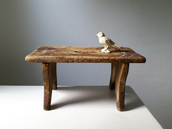 Phenomenal Rustic Wood Bench Antique Wooden Bench Small Stool Machost Co Dining Chair Design Ideas Machostcouk