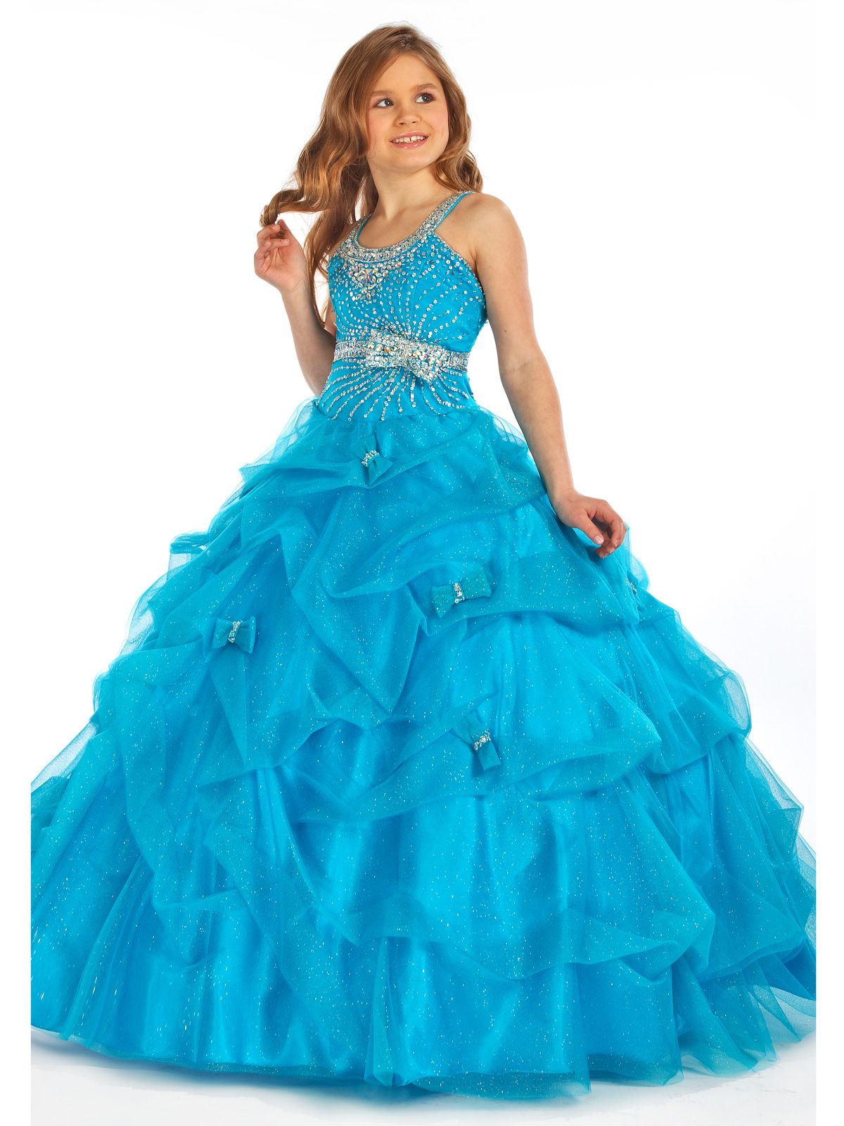 Stunning pageant dress for girls by Perfect Angels pageant 1404 ...