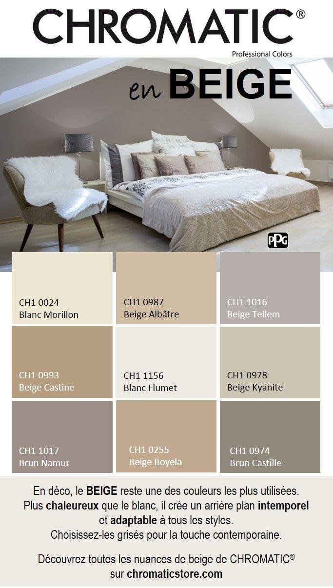 En d co le beige reste une des couleurs les plus for Accessoire deco chambre