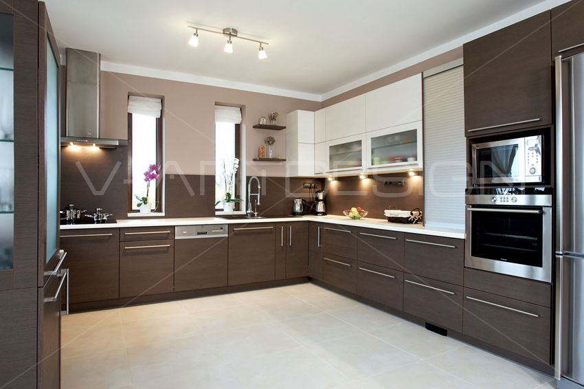 Modern konyha capuccino és krém színben Kitchen Pinterest - preisliste nobilia küchen