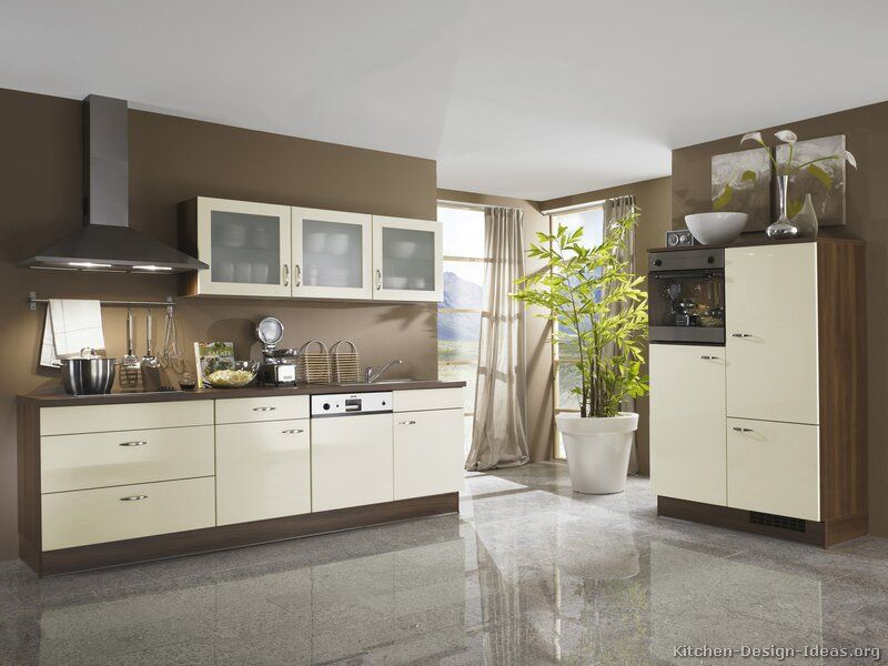 kitchen idea of the day: european kitchen cabinets (by alno, ag
