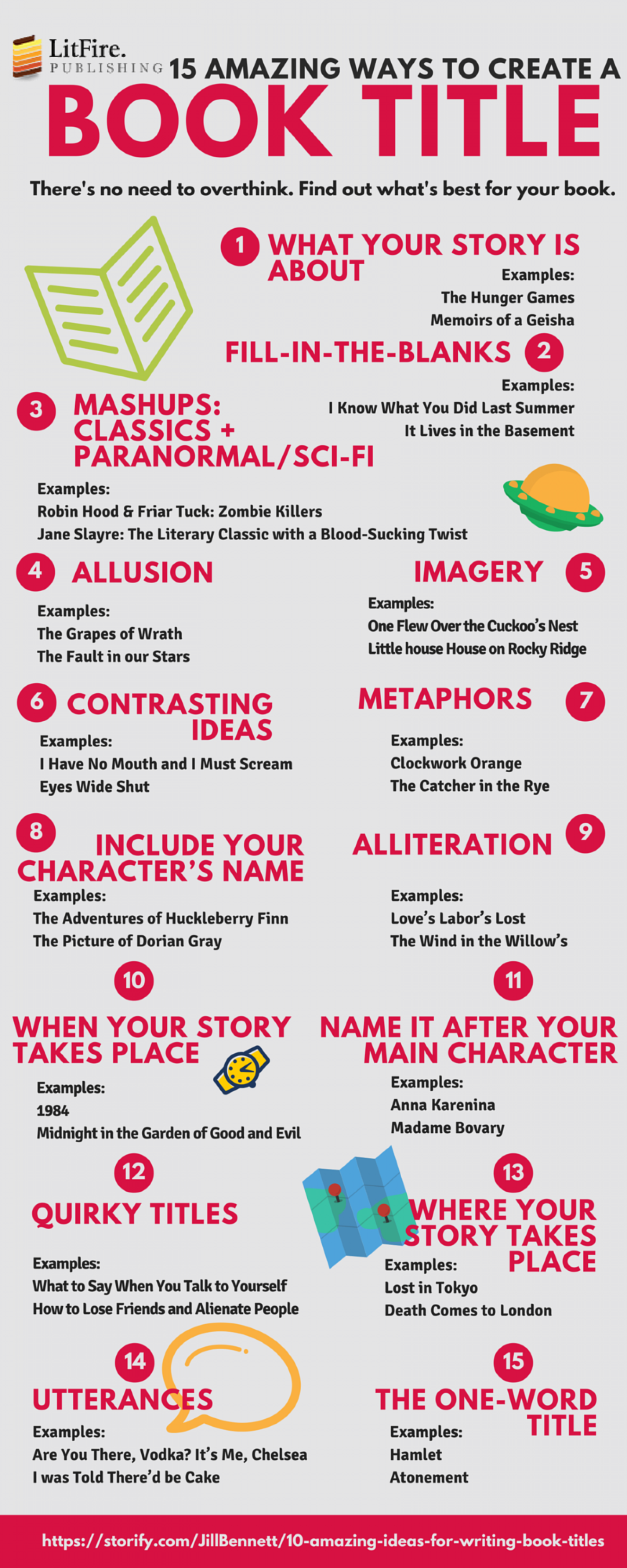 15 Amazing Ways to Create a Book Title Infographic | Movie | Pinterest