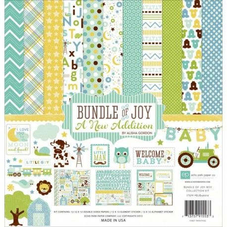 Bundle Of Joy - Baby Boy Collection Kit